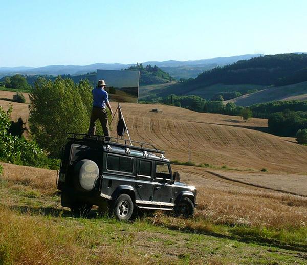 Land Rover Defender As A Mobile Plein Air Landscape