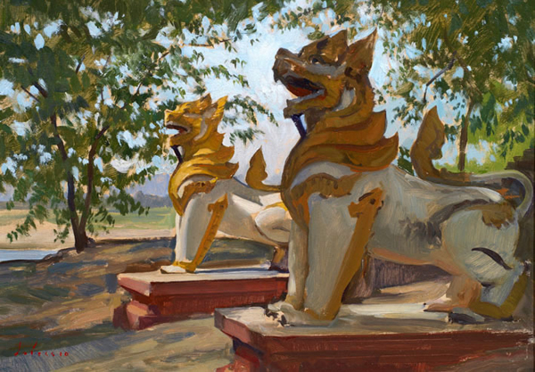 1000 images about chinthe on pinterest foo dog foo dog tattoo and dog tattoos. Black Bedroom Furniture Sets. Home Design Ideas